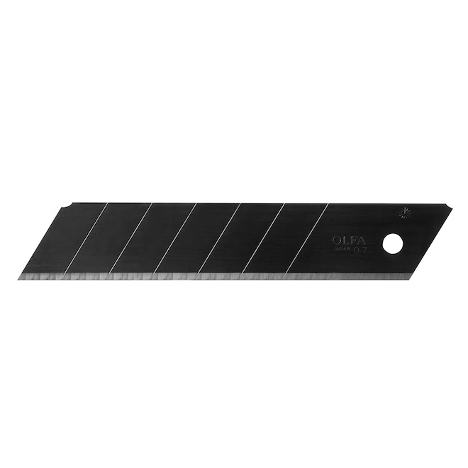 Lames OLFA Ultramax, HBB, noir, 20/pqt