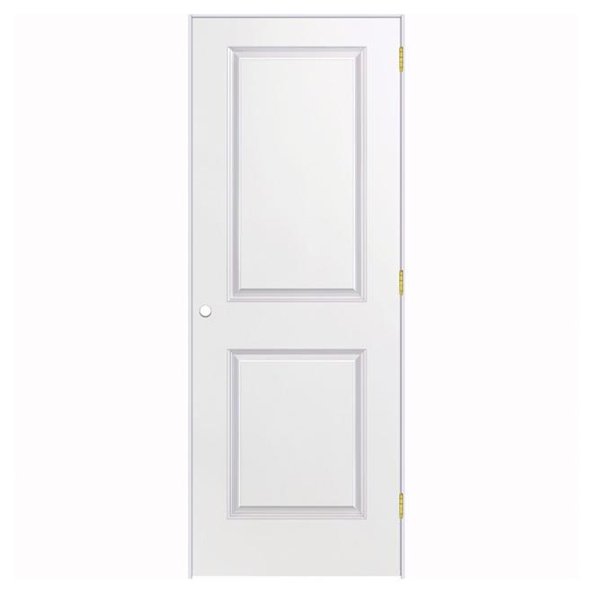 Prehung Door - 2 Panels - 28'' x 80'' - Primer