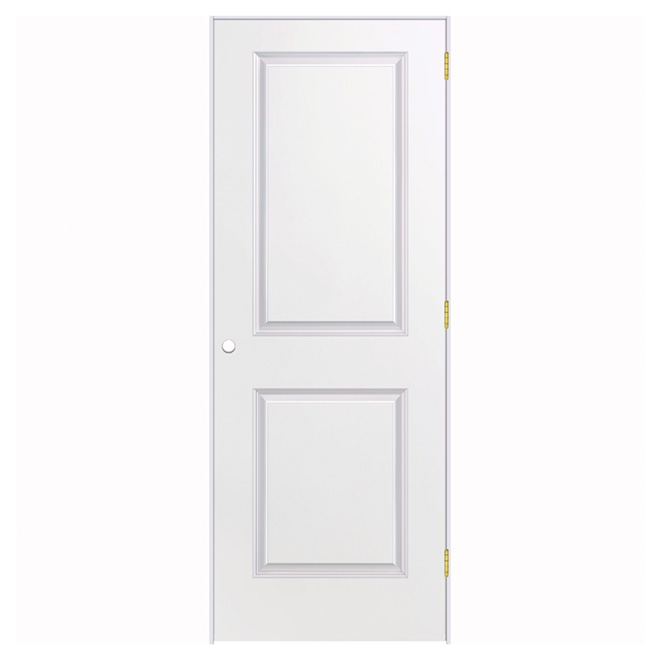 Prehung Door - 2 Panels - 36'' x 80'' - Primer