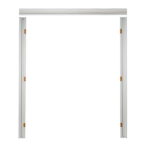 Double Pre-Machined Door Frame - 7/16'' x 4 9/16'' x 7'