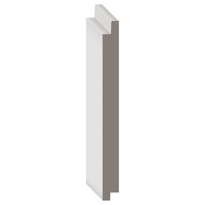 "Metrie Wooden Shiplap - Complete(R) - 5 1/2"" x 8' - White"
