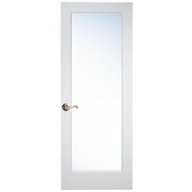 Masonite Lite French Door - 32-in x 80-in x 1 3/8-in - Glass / MDF