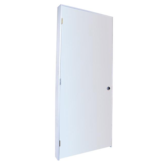 Metrie Prehung Door - 30'' x 80'' - Primer - Right