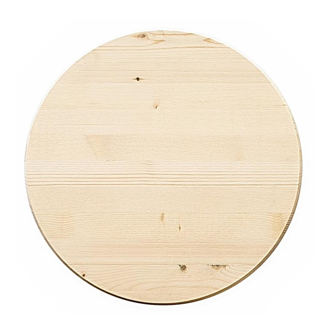 Metrie Edge Glued Round DIY Pine Board - 1'' x 18''