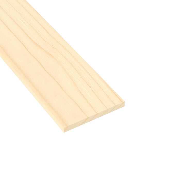 """Metrie Edge-Glued Panel """"Hobbyboard"""" - Spruce - 3/4"""" x 8"""" x 36"""" - Natural"""