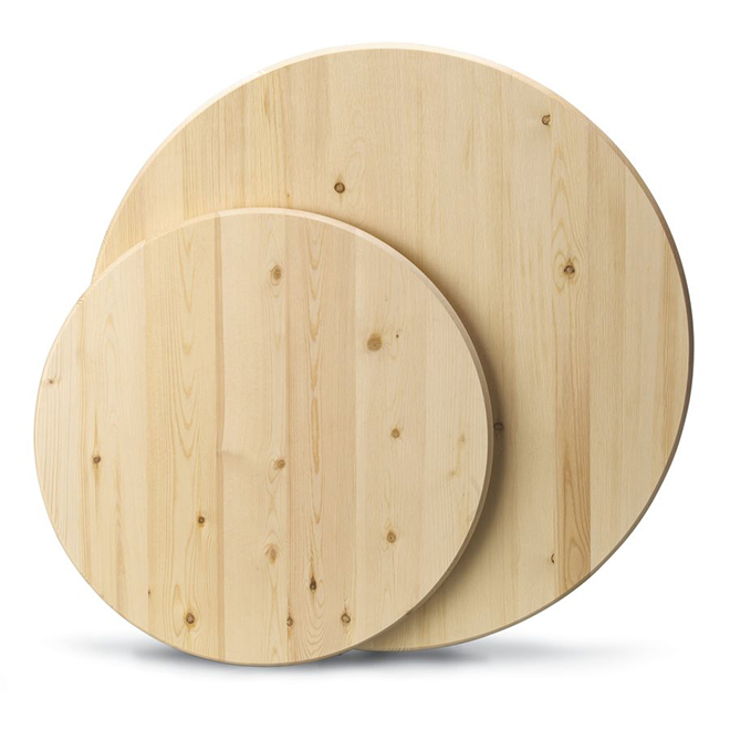 Metrie Edge Glued Round DIY Pine Board - 1'' x 24''