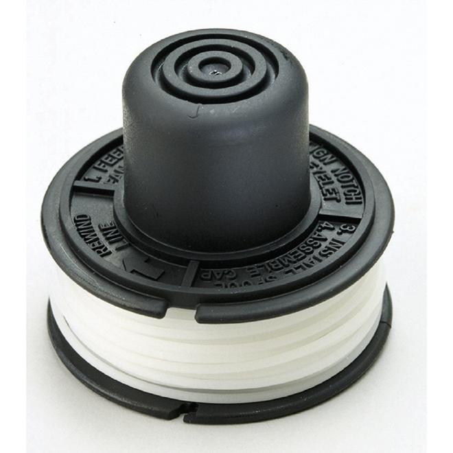 Fil pour coupe-bordures Black & Decker, 0,065'', 20'