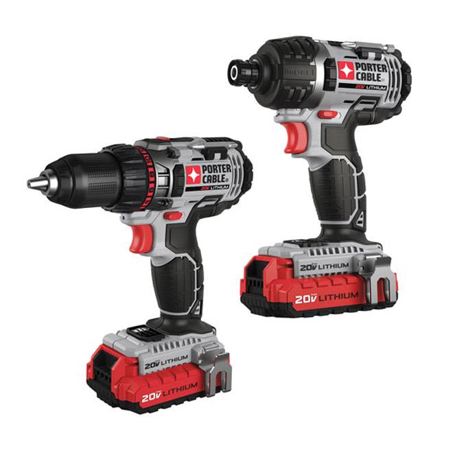 """Set of 2 20-V """"Max"""" Tools"""