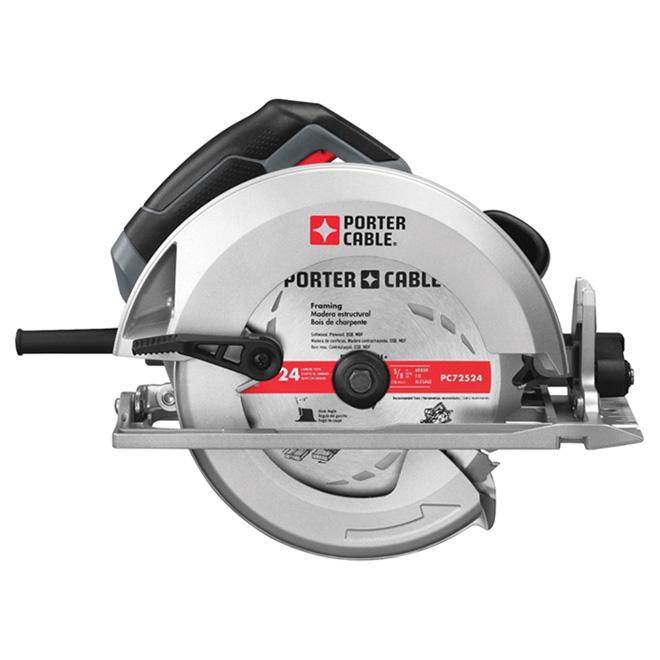 "7 1/4"" Grey 5600 RPM Circular Saw"