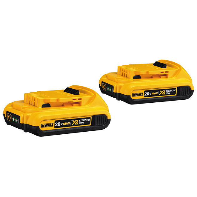 Lithium-ion Batteries Compact XR - 20 Volt - 2/Pack