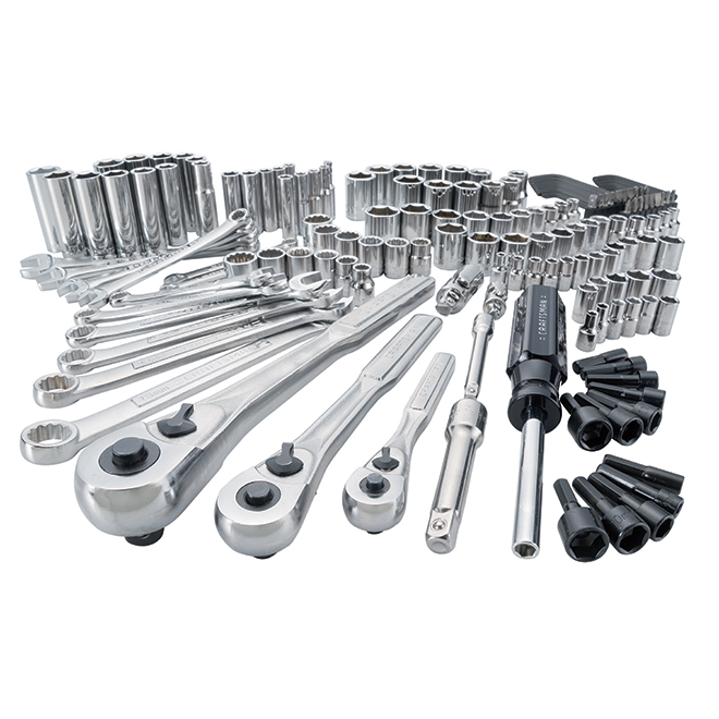 Mechanics Tool Set - Steel - 165Pieces