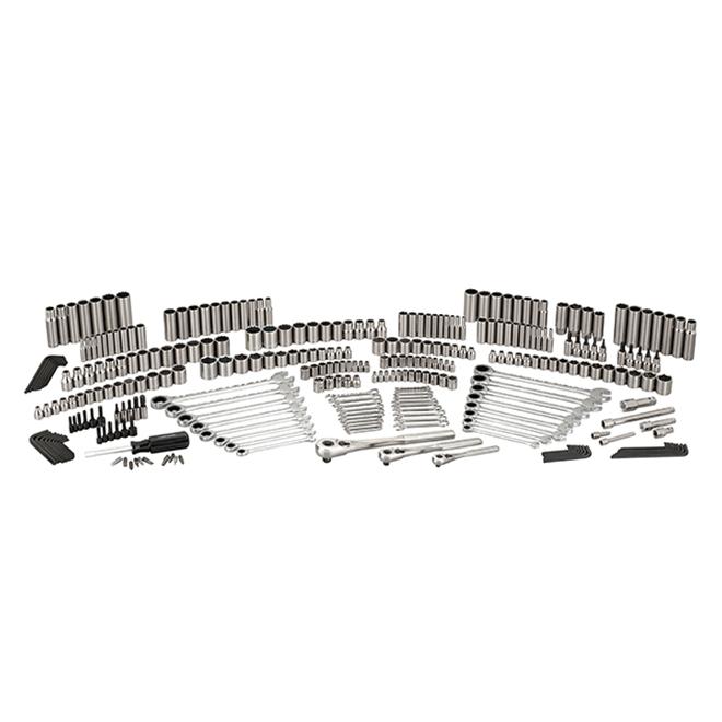 Mechanics Tool Set - Steel - 309Pieces