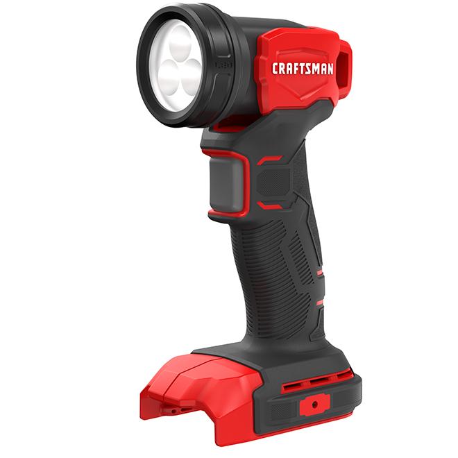 Working Light - 20 V - LED - Red and Black