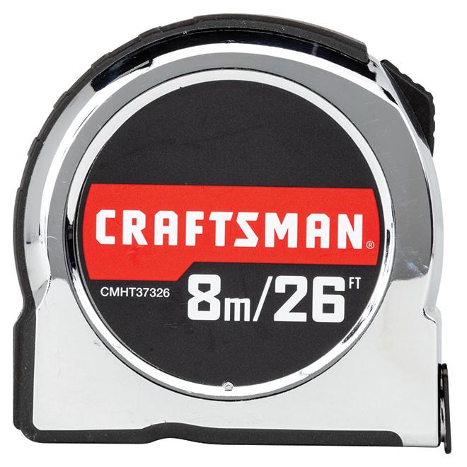 Classic Tape Measure - 1'' x 26' - Chrome
