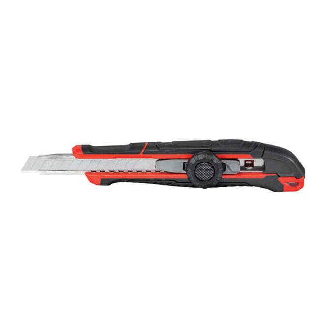 Couteau utilitaire à lame cassable, 9 mm, 1 lame