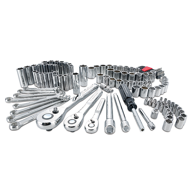 Mechanic Tool Set - 3 Drives - 135 Pieces