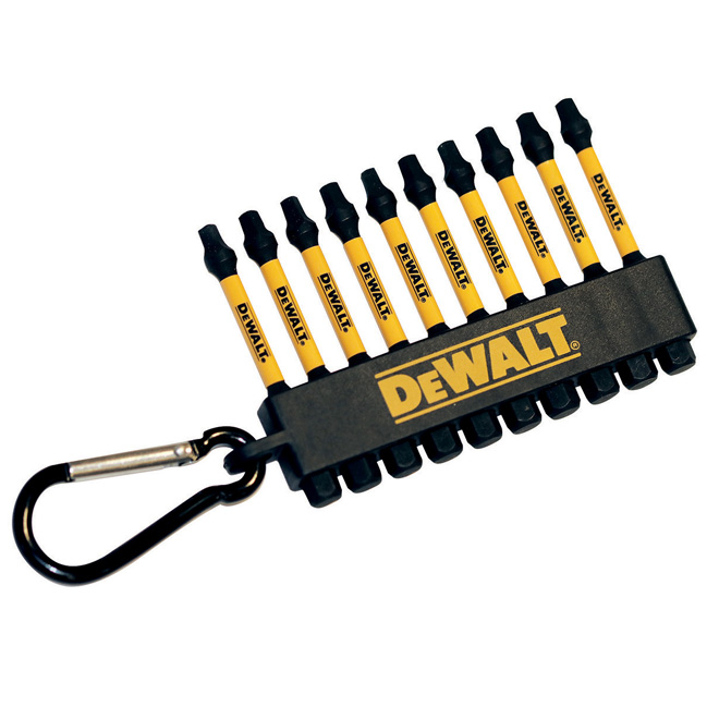 Dewalt Impact Driver Set FlexTorq - Square - 2'' - 10/Pack