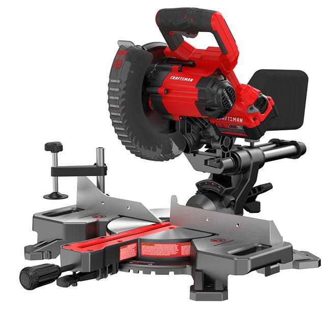 Craftsman Cordless Sliding Mitre Saw - 20V MAX - 7 1/4''