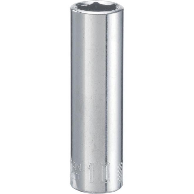 Craftsman 6-Point Socket - Steel - 10 mm x 1/4-in Drive