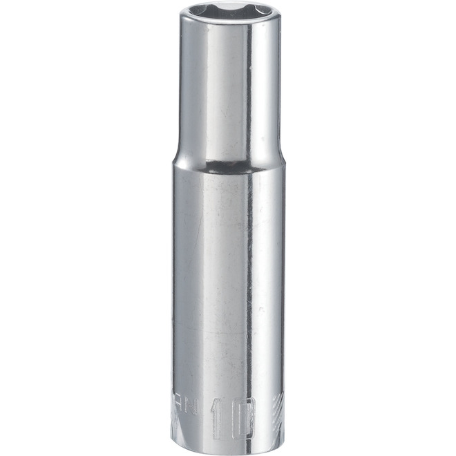 Craftsman 6-Point Socket - 3/8-in Drive 10 mm - Steel