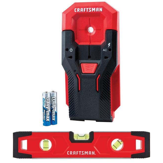Craftsman Stud Sensor and Level Set - 0.75-in