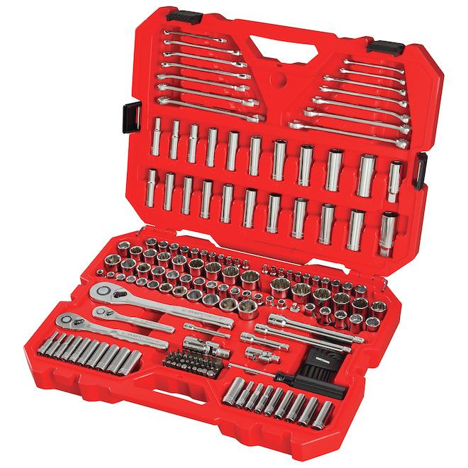 Craftsman Mechanic Tool Set -  Steel 197 Pieces