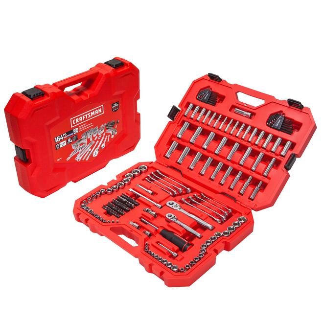 Craftsman 164-Piece Mechanic Tool Set