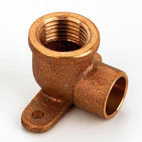 Copper Drop Ear Elbow