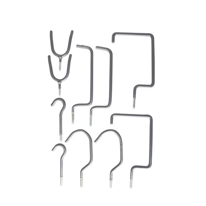 10-Piece Storage Hook Set