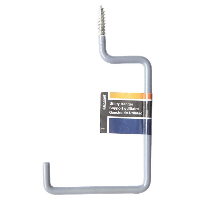 "Utility Hanger - 4"" - Grey"