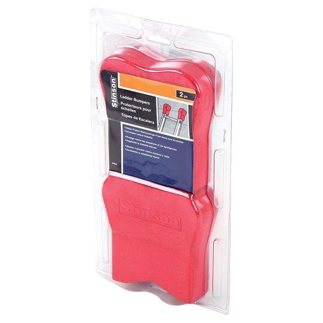 Tampon en caoutchouc rouge pour échelles