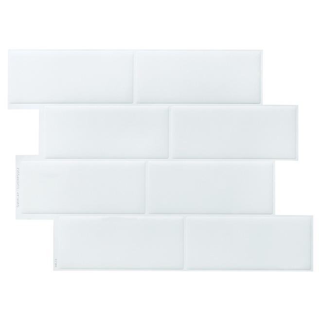 Self-Adhesive Wall Tile - Metro Blanco - 6-Pack