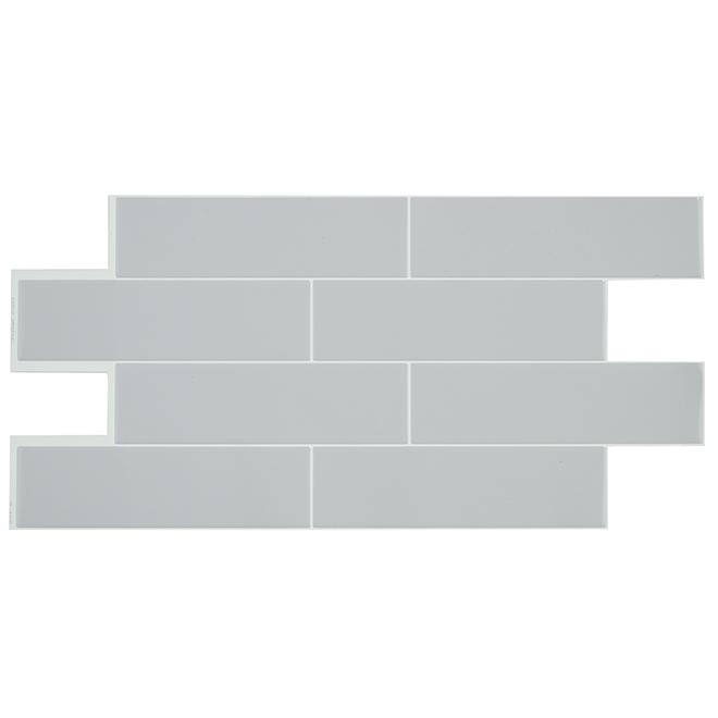 Self-Adhesive Wall Tile - Oslo Gray - 2-Pack