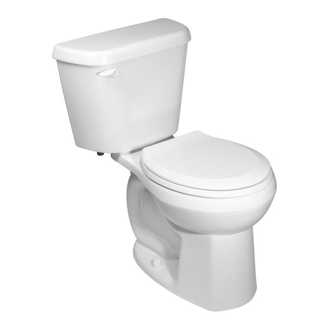 """Toilette 2-pièces à cuve ronde, 4,8 l, 16,5"""""""