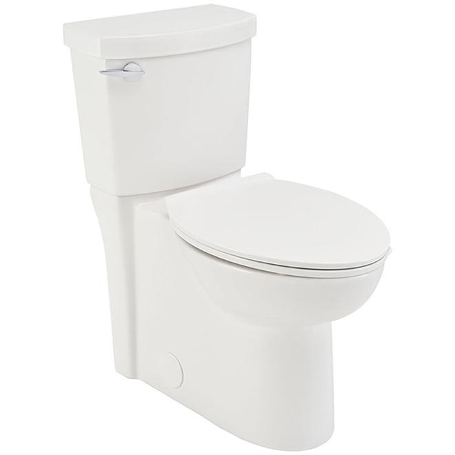 Toilette, American Standard, Rond/Clean, 4,8 l, blanc