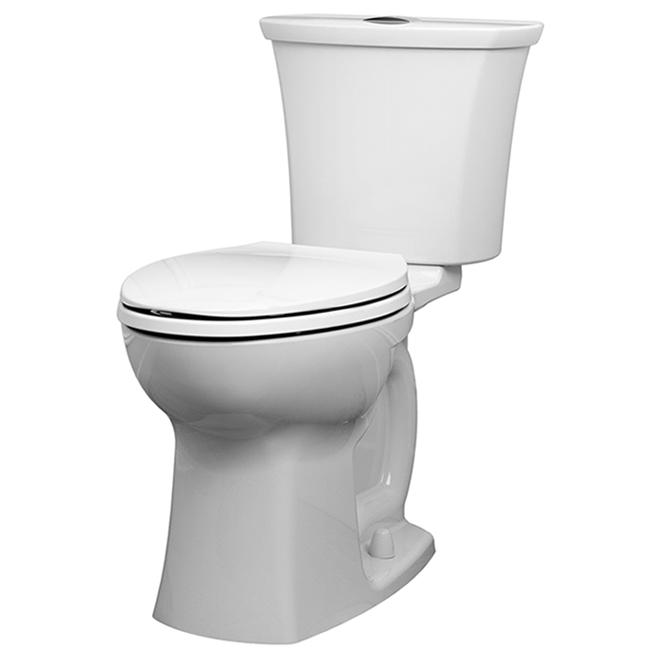 American Standard - Elongated Toilet - Edgemere - 6L-4L - White