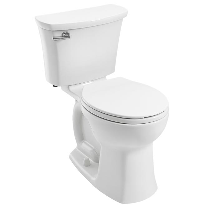 Toilette Edgemere American Standard avec surface EverClean, 16,5 po, 4,8 l, blanc