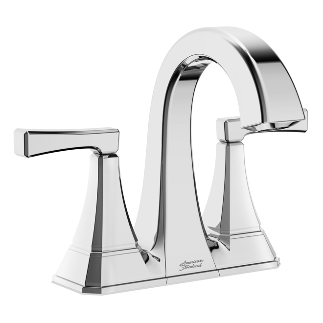 American Standard Westerly  Bathroom Faucet- Metal Plastic 4-in Chrome