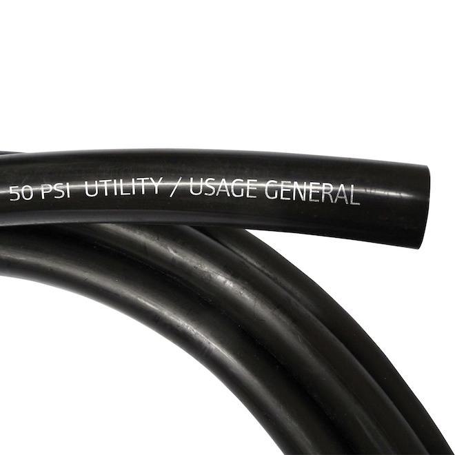 """Polyethylene Utility Pipe - 1""""x100' - Black"""