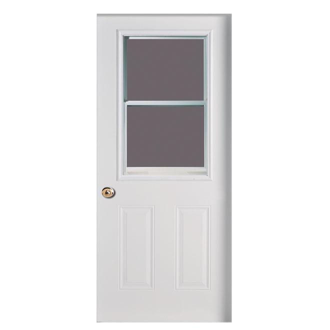 Venting Steel door