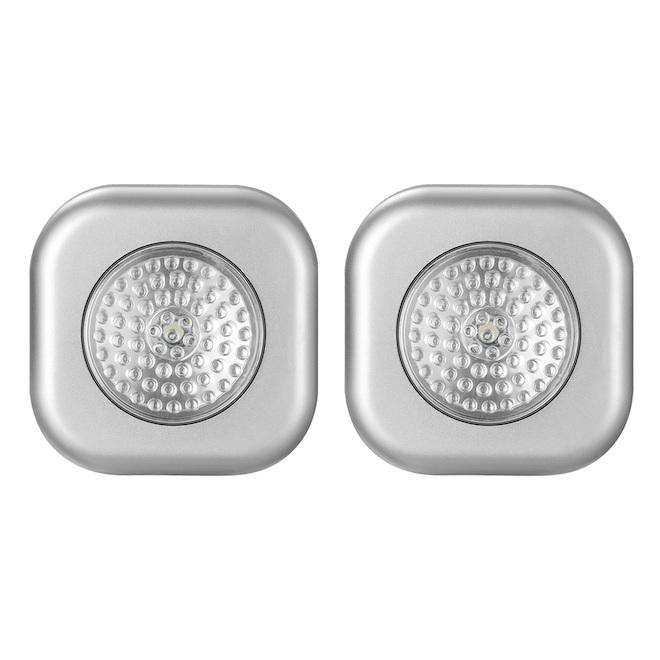 LED Push Night Light - 2-Pack