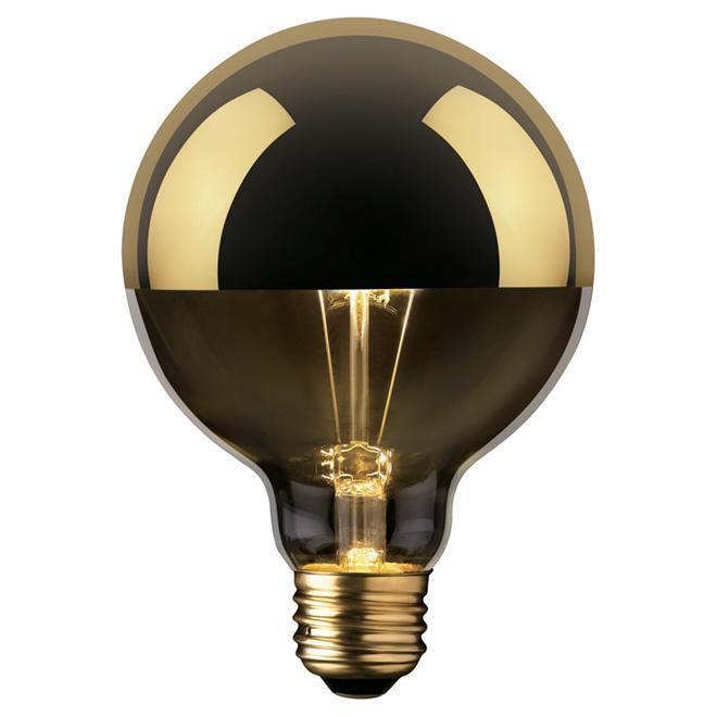 Ampoule déco, G25, Oro, 40W