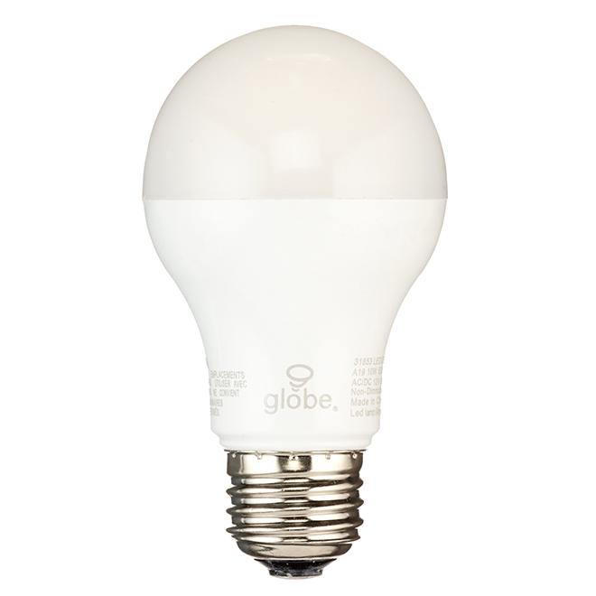 Ampoule DEL, A19, blanc chaud