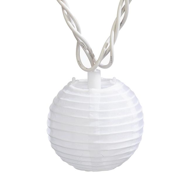 Jeu de 10 lumières sur fil, mini ampoules, lanterne blanche