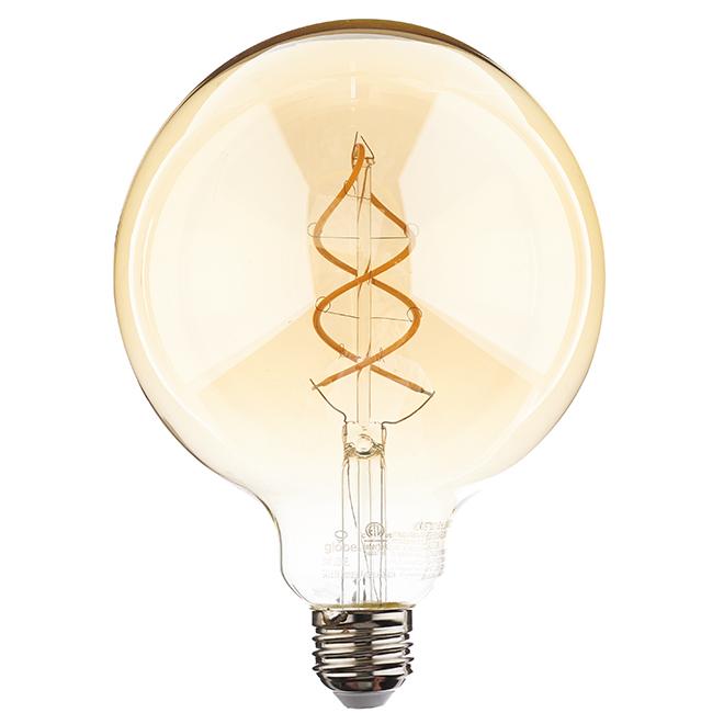 Ampoule DEL G40 6,5 W, intensité variable, ambré