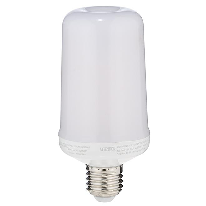 E26 Flame Effect Bulb - 5 W - Orange
