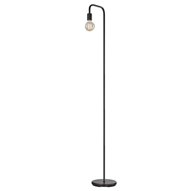 Globe Electric Holden Floor Lamp - 70-in - Metal - Black