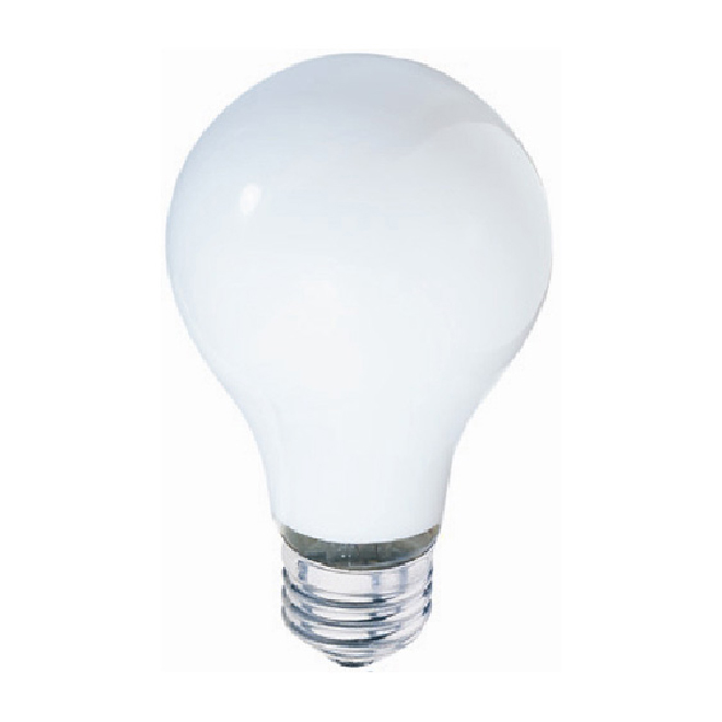 Ampoule halogène A19, 29 W, blanc doux, 4/pqt
