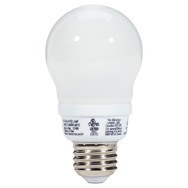 Fluorescent Bulb T3 A-Type 7 W - Soft White