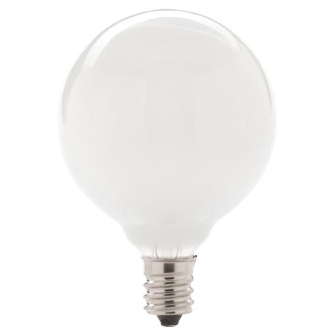 2-Pack 29 W G16.5 White Halogen Bulbs